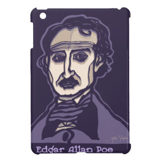 Edgar Allan Poe by FacePrints Cover For The iPad Mini