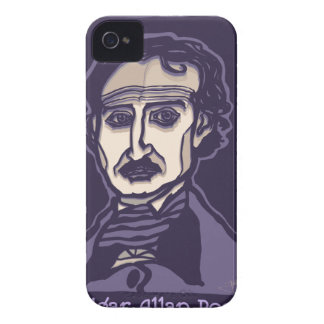 Edgar Allan Poe by FacePrints iPhone 4 Case-Mate Cases