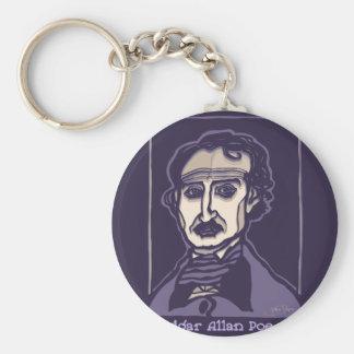 Edgar Allan Poe by FacePrints Keychain