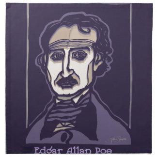 Edgar Allan Poe by FacePrints Napkin
