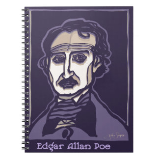 Edgar Allan Poe by FacePrints Notebooks