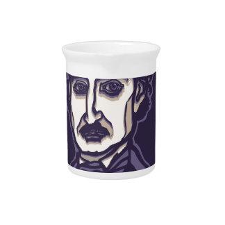 Edgar Allan Poe by FacePrints Pitcher