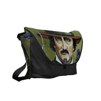 Edgar Allan Poe Courier Bag