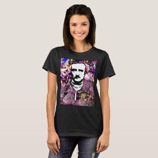 Edgar Allan Poe Flea Moon Lunar Voynich Manuscript T-Shirt