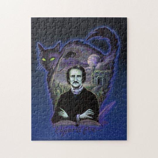 Edgar Allan Poe Gothic Jigsaw Puzzle