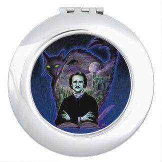 Edgar Allan Poe Gothic Travel Mirror
