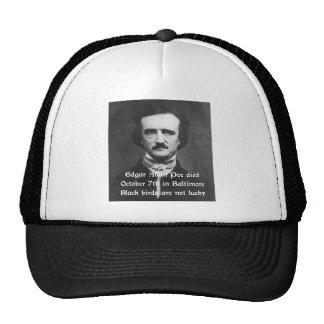Edgar Allan Poe Haiku Trucker Hat