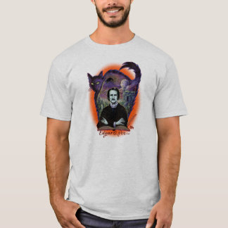 Edgar Allan Poe Halloween version T-Shirt