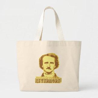 Edgar Allan Poe Large Tote Bag