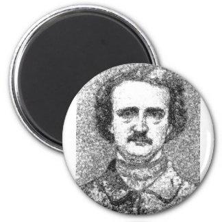 Edgar Allan Poe Portrait Magnet