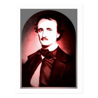 Edgar Allan Poe post card one