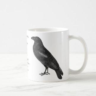 "Edgar Allan Poe ""Raven"" Mug"