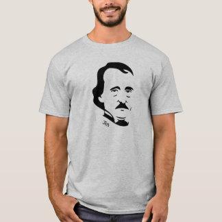 Edgar Allan Poe T-Shirt   (Light Grey)