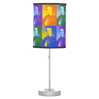 Edgar Allan Poe Table Lamp