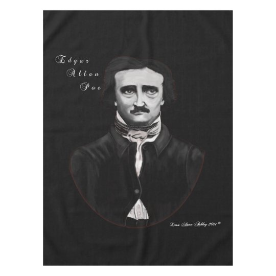 Edgar Allan Poe Tablecloth