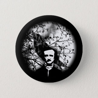Edgar Allan Poe 'The Raven' 2 Inch Round Button