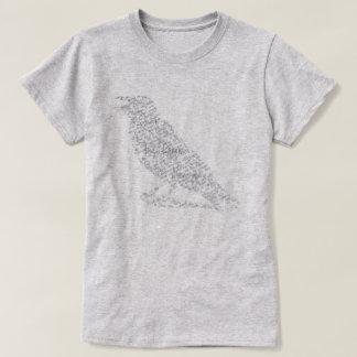 Edgar Allan Poe The Raven Ladies Typography Shirt