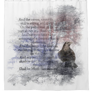 Edgar Allan Poe The Raven Poem Raven Watercolor