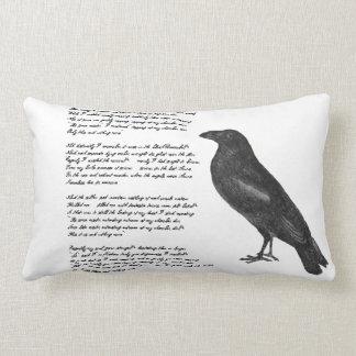 """Edgar Allan Poe """"The Raven"""" Throw Pillow"""