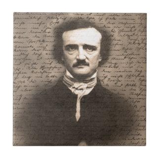 Edgar Allan Poe Tile