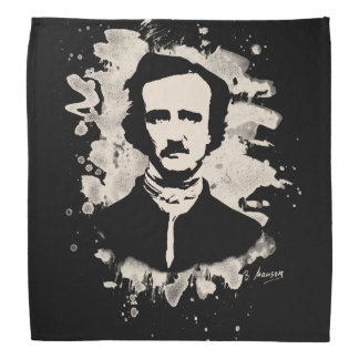 Edgar Allan Poe tributes Head Kerchiefs