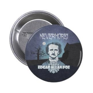 Edgar Allan Poe's Nevermore 2 Inch Round Button