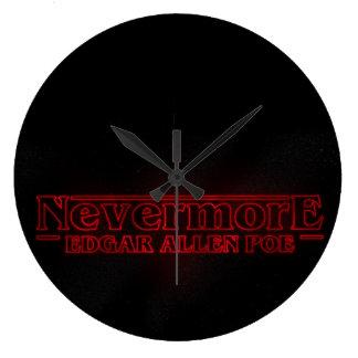 Edgar Allen Poe Clock