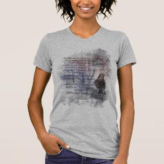 Edgar Allen Poe Poem Quote the Raven T-Shirt