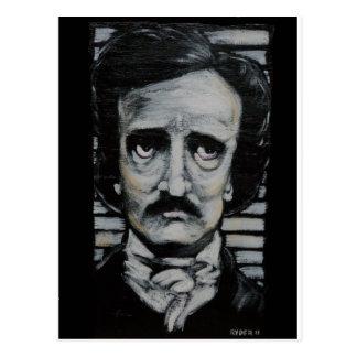 Edgar Allen Poe Postcard