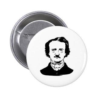 Edgar Allen Poe Raven Buttons