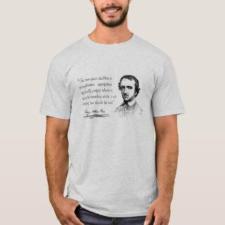 Edgar Allen Poe Silence T-Shirt