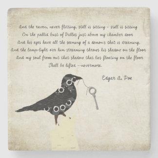 Edgar Allen Poe Stone Coaster