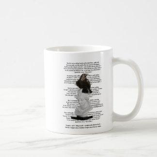Edgar Allen Poe The Raven Poem Coffee Mug
