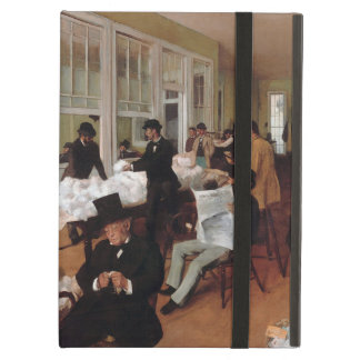 EDGAR DEGAS- A cotton office in New Orleans 1873 Case For iPad Air