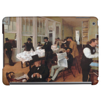 EDGAR DEGAS- A cotton office in New Orleans 1873 iPad Air Cases