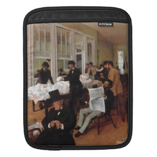 EDGAR DEGAS- A cotton office in New Orleans 1873 iPad Sleeve