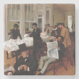 EDGAR DEGAS- A cotton office in New Orleans 1873 Stone Coaster