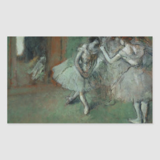 Edgar Degas – A Group of Dancers