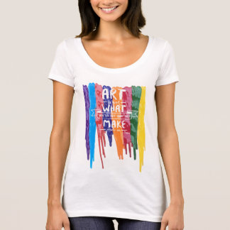 Edgar Degas art quote T-Shirt