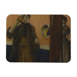Edgar Degas - At the Milliner's Magnet