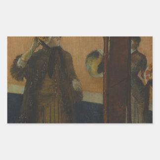 Edgar Degas - At the Milliner's Sticker