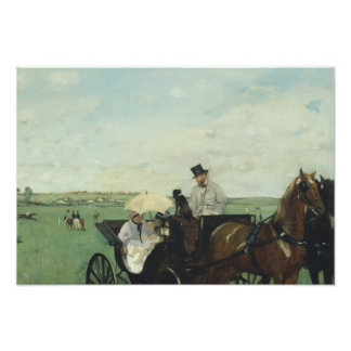 Edgar Degas – At the Races in the Countryside Photo