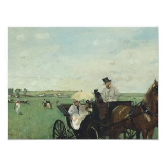 Edgar Degas – At the Races in the Countryside Photograph