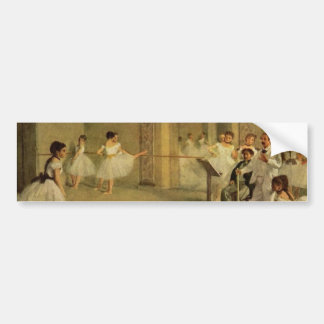 Edgar Degas-Ballerinas Bumper Sticker