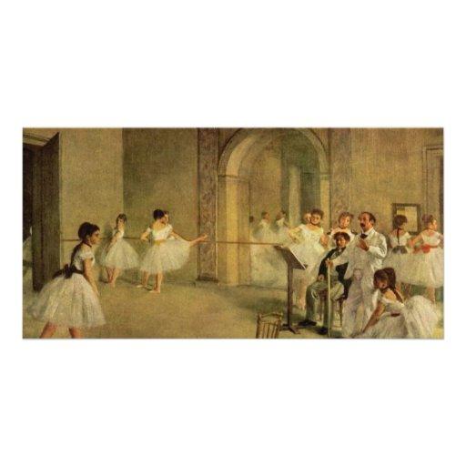Edgar Degas-Ballerinas Personalized Photo Card