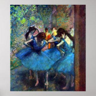Edgar Degas - Ballerinas Poster
