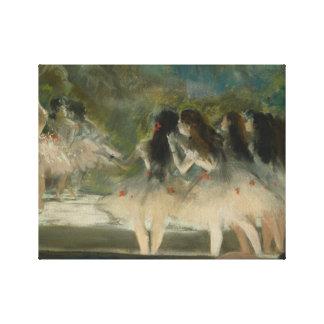 Edgar Degas – Ballet at the Paris Opera Canvas Print