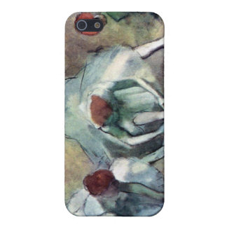 Edgar Degas - Ballet Dancers Tying Shoes iPhone 5/5S Cover