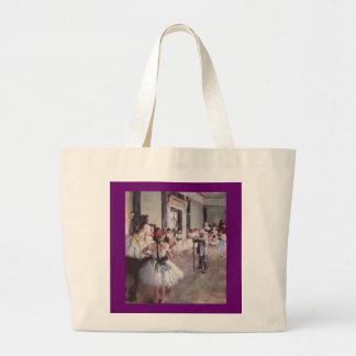 Edgar Degas Ballet Lesson Large Tote Bag