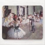 Edgar Degas Ballet Lesson Mouse Pad